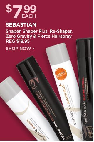 Sebastian Shaper, Shaper Plus, Re-Shaper, Zero Gravity and Fierce Hairspray, Shop Now