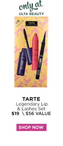 Tarte | Legendary Lip and Lashes Set $19, Shop Now