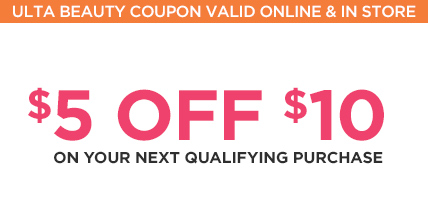 $5 off $10 on your next qualifying purchase.